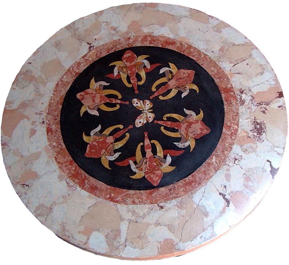 Arteidea restauro pittorico trompe l 39 oeil marmo for Piani di casa artigiana con seminterrato di sciopero